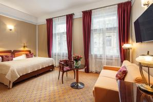 Hotel Paris Prague | Prague 1 | Deluxe Double Room with sofa bed